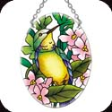 Suncatcher-SO189R-Hummingbird/Floral - Hummingbird/Floral