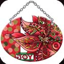 Suncatcher-SO237R-Poinsettia - JOY - Poinsettia - JOY