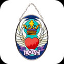 Suncatcher-SO244-Winged Heart - Winged Heart