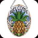 Suncatcher-SO270R-Pineapple/WELCOME - Pineapple/WELCOME