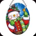 Suncatcher-SO286R-Snowman - Snowman