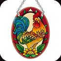 Suncatcher-SO338R-Tuscan Rooster - Tuscan Rooster