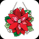 Suncatcher-SSA1016-Poinsettia - Poinsettia