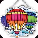 Suncatcher-SSB1012R-Hot Air Balloons - Hot Air Balloons