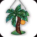 Suncatcher-SSB1013R-Palm Tree - Palm Tree