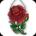 Suncatcher-SSB1015R-Red Rose - Red Rose