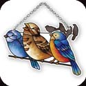 Suncatcher-SSB1045R-Birds on a Wire - Birds on a Wire