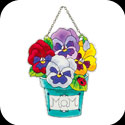 Suncatcher-SSD1001-Potted Pansies/MOM - Potted Pansies/MOM