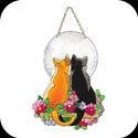 Suncatcher-SSD1003-Cats in Moonlight - Cats in Moonlight
