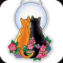 Suncatcher-SSD1003R-Cats in Moonlight - Cats in Moonlight
