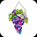 Suncatcher-SSD1005-Grapes & Butterfly - Grapes & Butterfly