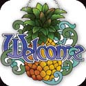 Suncatcher-SSD1011R-Pineapple/Welcome - Pineapple/Welcome