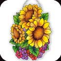 Suncatcher-SSD1012R-Sunflowers - Sunflowers