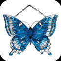 Suncatcher-SSD1016-Aquamarine/Blue - Aquamarine/Blue Butterfly