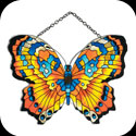 Suncatcher-SSD1017-Orange/Blue - Orange/Blue Butterfly