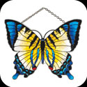 Suncatcher-SSD1020-Yellow/Blue Butterfly - Yellow/Blue Butterfly