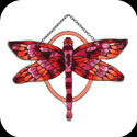 Suncatcher-SSD1022-Red/Terracotta Dragonfly - Red/Terracotta Dragonfly