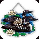 Suncatcher-SSD1028R-Loons - Loons