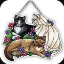 Suncatcher-SSD1031R-Tiffany Cats - Tiffany Cats