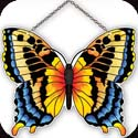 Suncatcher-SSE1019R-Yellow/Black Butterfly - Yellow/Black Butterfly
