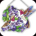 Suncatcher-SSE1024R-Hummingbird Duo - Hummingbird Duo