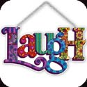 Suncatcher-SSE1036R-Laugh - Laugh