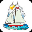 Suncatcher-SSM1028-Sailboat - Sailboat