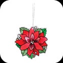 Suncatcher-SSM2007-Poinsettia - Poinsettia