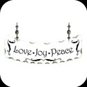 Suncatcher-SSN1017-Love Joy Peace - Love Joy Peace