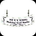 Suncatcher-SSN1036-Success: Making God Smile - Success: Making God Smile