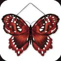Suncatcher-SSP1002R-Red Butterfly - Red Butterfly