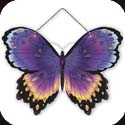 Suncatcher-SSP1004R-Purple/Orange Butterfly - Purple/Orange Butterfly