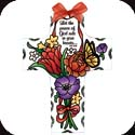 Suncatcher-SX2017R-Jewel Bouquet/Let the peace of God... - Jewel Bouquet/Let the peace of God rule in your heart.  Col. 3:15