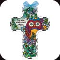 Suncatcher-SX2024R-Owl/The wise shall inherit glory? Prov. 3:35 - Owl/The wise shall inherit glory? Prov. 3:35