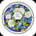 Art Table-TA507B-Gardenias - Gardenias