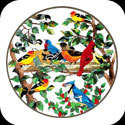 Art Table-TA508W-Birds of a Feather - Birds of a Feather