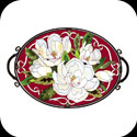 Art Table-TA707B-Magnolias - Magnolias