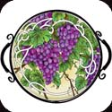 Tray-TR113R-Grape Arbor - Grape Arbor