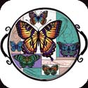 Tray-TR116R-Butterfly Collage - Butterfly Collage