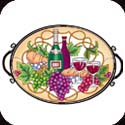 Tray-TR312R-Bread & Wine - Bread & Wine