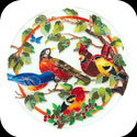 Trivet-TTV001-Birds of a Feather - Birds of a Feather