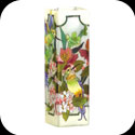 Vase-VAS198-Hummingbird/Lilies/I hold you in my heart - Hummingbird/Lilies/I hold you in my heart