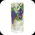 Vase-VAS199-Grape Arbor/I am the vine... - Grape Arbor/I am the vine; you are the branches. Jn. 15:5