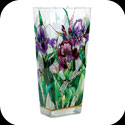 Vase-VAS2005-Purple Irises - Purple Irises
