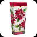 Vase-VAS2029-Poinsettias - Poinsettias