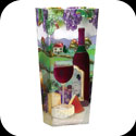 Vase-VAS2031-Wine & Cheese - Wine & Cheese