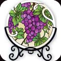 Candleware-VMC003R-Grape Arbor - Grape Arbor