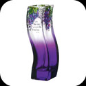 Vase-VWB1020-Grape Arbor/I am the Vine - Grape Arbor/I am the Vine; you are the branches: Jn. 15:5.