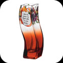 Vase-VWB1021-Jewel Bouquet/Let the peace of God... - Jewel Bouquet/Let the peace of God rule in your heart.  Col. 3:15