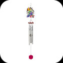 Windchimes-WCH304-Bird & Birdhouse - Bird & Birdhouse